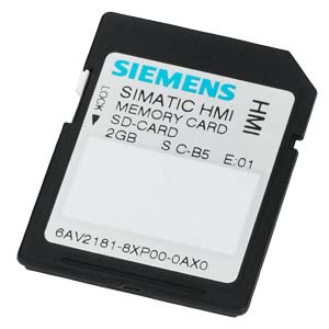 Simatic hmi memory card